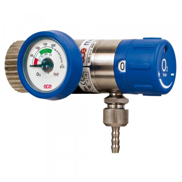 Reductor / Regulator presiune oxigen cu selector de debit Mediselect II, cu iesire 9/16 1