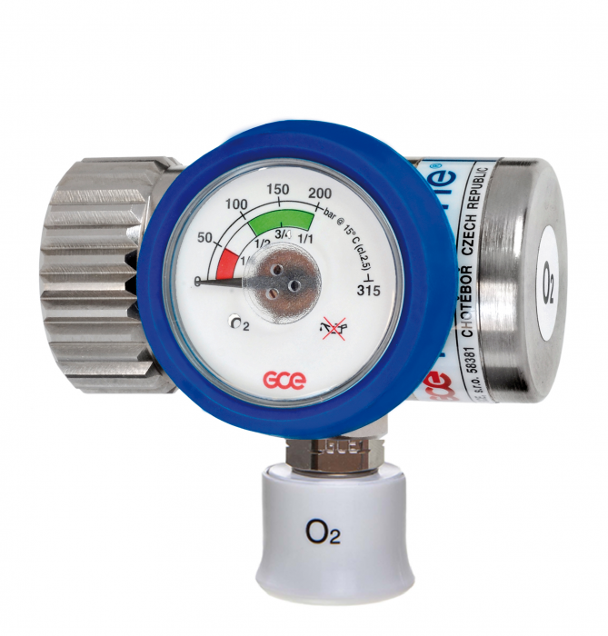 Reductor presiune oxigen Medireg II, iesire cupla rapida DIN [0]