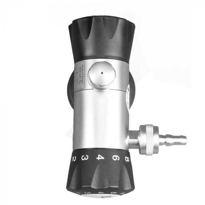 Regulator de presiune oxigen medicinal cu manometru - VTI S26 [1]