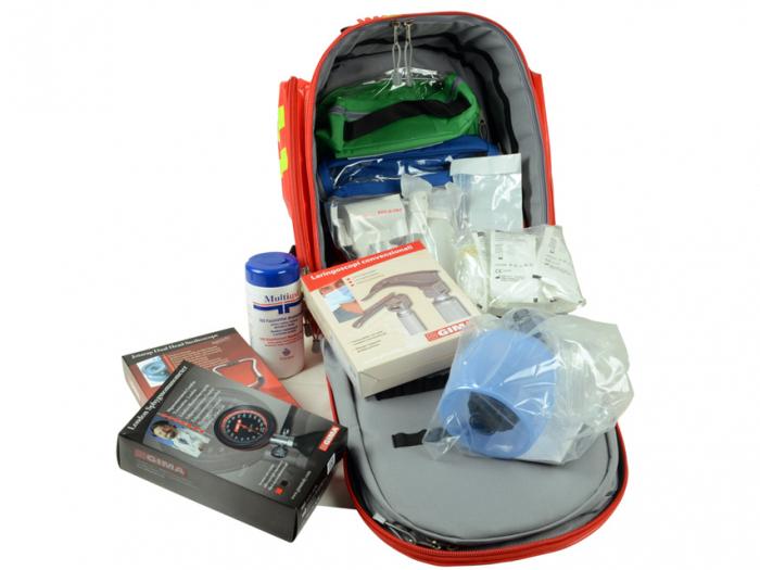 Rucsac echipat pentru urgente  - GIMA 12 [2]