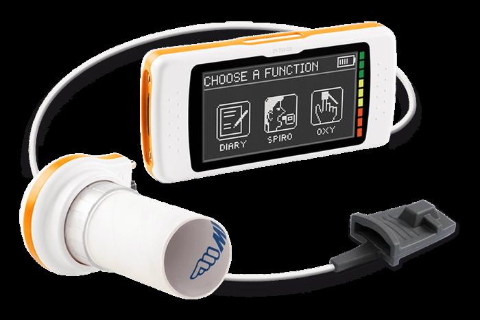 Spirometru cu pulsoximetru - Spirodoc - MIR [0]
