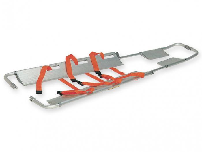 Targa medicala antitraumatica tip lopata, pliabila, din aluminiu 0