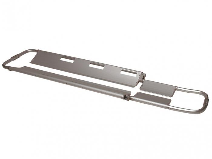 Targa medicala antitraumatica tip lopata, pliabila, din aluminiu 2