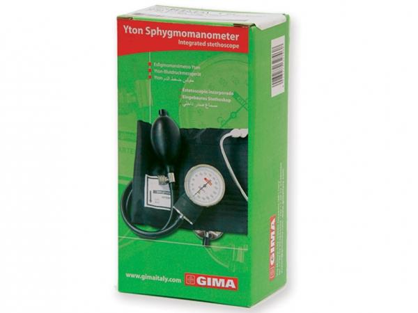 Tensiometru mecanic aneroid cu manometru si stetoscop YTON 1