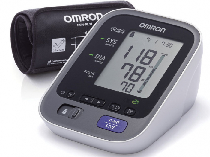 Tensiometru digital profesional - OMRON M7 INTELLI IT - HEM-7322T-E 0