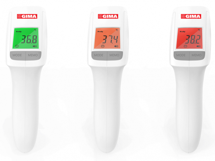 Termometru digital multifunctional non-contact cu infrarosu - GIMATEMP 1