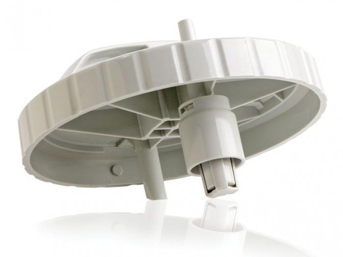 Vas aspiratie secretii / Borcan colector 1 Litru / 1000 ml pentru aspirator chirurgical - autoclavabil 121°C - capac si accesorii incluse 1