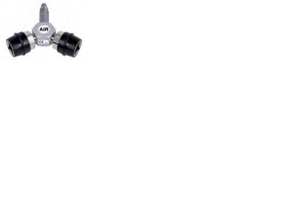 Conector / Distribuitor Y pentru aer comprimat medical, standard DIN [0]