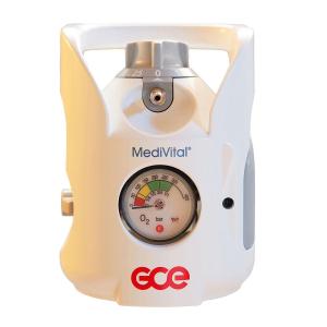 Tub / Butelie oxigen medical, capacitate 10 litri, cu regulator - MediVital - GCE [2]