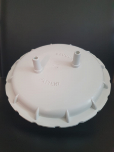 Capac cu garnitura pentru borcan autoclavabil 4l pentru aspiratoare Clinic/Clinic Plus/Hospi Plus1