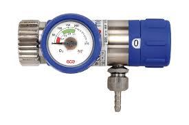 Reductor / Regulator presiune oxigen cu selector de debit Mediselect II, cu iesire 9/160