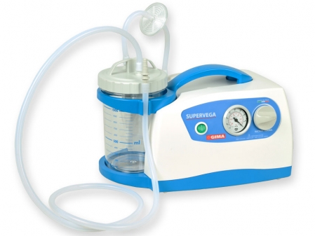 Aspirator chirurgical pentru secretii - SuperVega - cu borcan 1 litru [0]