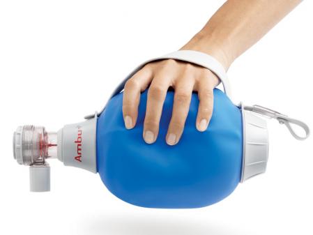 Balon resuscitare adulti, din silicon - Ambu Mark IV [1]