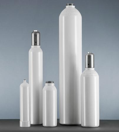 Tub / butelie din otel, pentru oxigen medical, capacitate 5 litri [1]