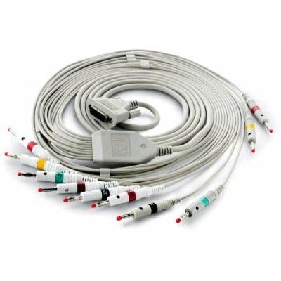 Cablu EKG cu 10 fire pentru pacient - Cablu pentru electrocardiograf - EE100ERI-200 [1]