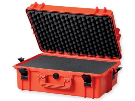 Geanta profesionala de transport - portocalie - cu spuma - dimensiune mare [0]