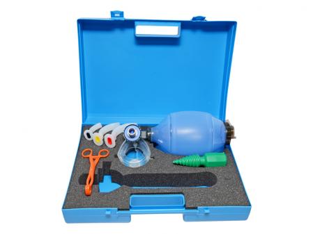 Kit / Geanta resuscitare si reanimare - fara butelie oxigen - SPEED 30