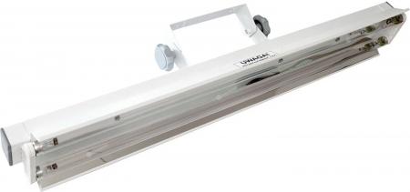 Lampa UV bactericida, cu montare pe perete, cu radiatie directa, functionare in absenta personalului - NBV 2x30 NL2