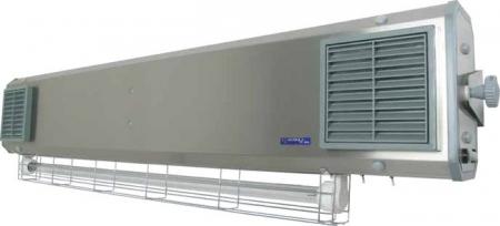 Lampa UV bactericida, cu montare pe perete, model hibrid - NBVE 110/55 NL [2]