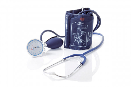 Tensiometru mecanic cu manometru la para si stetoscop - DM346 - LOGIKO [0]