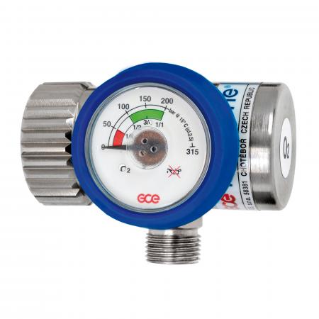 Reductor presiune oxigen Medireg II, cu racord iesire G3/8 [1]