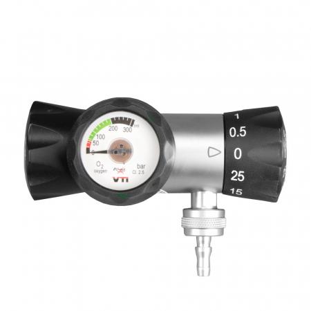 Regulator de presiune oxigen medicinal cu manometru - VTI S26 [2]