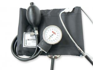 Tensiometru mecanic aneroid cu manometru si stetoscop YTON0