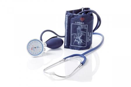 Tensiometru mecanic cu manometru la para si stetoscop - DM346 - LOGIKO [1]