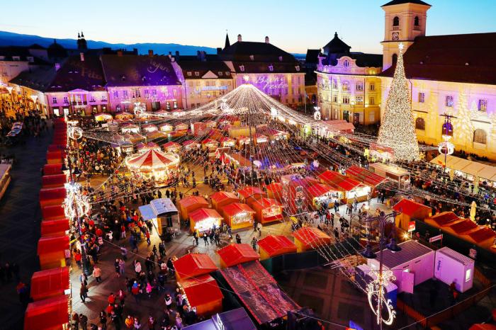 Targul de Craciun de la Sibiu si Castelul de Lut 3
