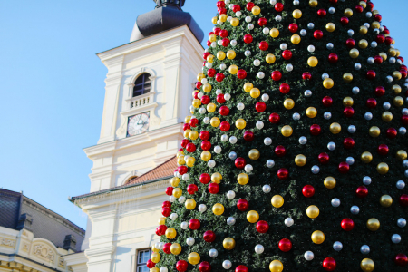 Targul de Craciun de la Sibiu si Castelul de Lut0