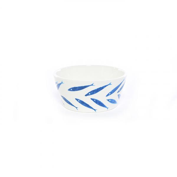 Bol decorativ cu model marin din ceramica - ExpoMob [0]