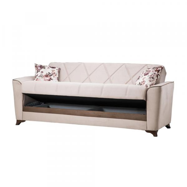 Canapea BELEZZA, extensibila, relaxa, cu lada depozitare 1