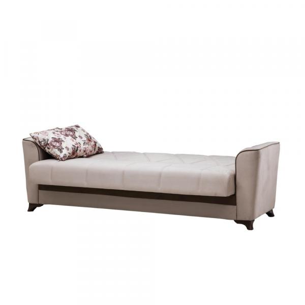 Canapea BELEZZA, extensibila, relaxa, cu lada depozitare 2