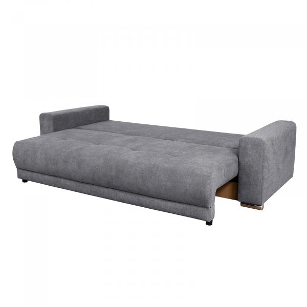 Canapea AZURRO 3L, extensibila, relaxa, cu lada depozitare 2