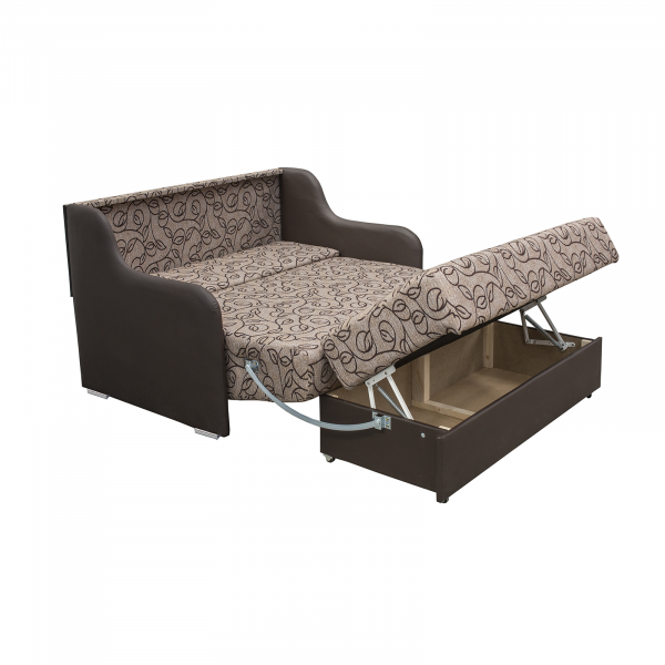 Canapea GALA, 2 locuri, extensibila, relaxa, cu lada 2