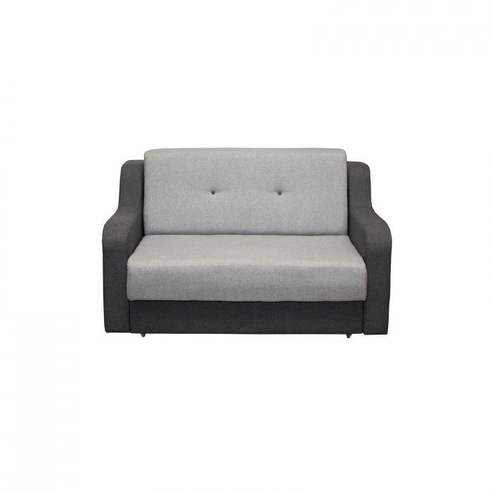 Canapea Gina cu 2 locuri extensibila cu lada - ExpoMob [0]