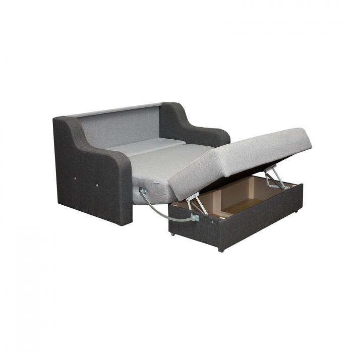 Canapea Gina cu 2 locuri extensibila cu lada - ExpoMob [2]