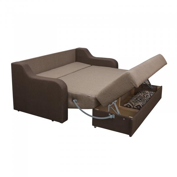 Canapea GINA 2 locuri XL, extensibila, relaxa, cu lada 2