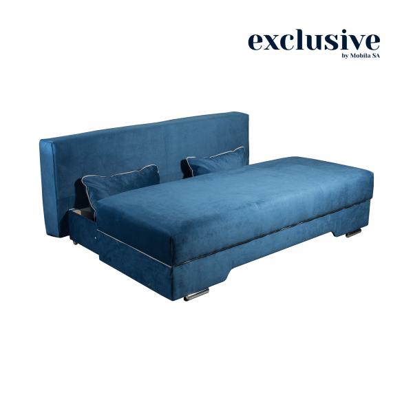 Canapea LUXEMBURG, extensibila, relaxa, cu lada depozitare 2
