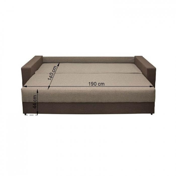 Canapea Nico 3L Lux extensibila cu lada depozitare - ExpoMob 4