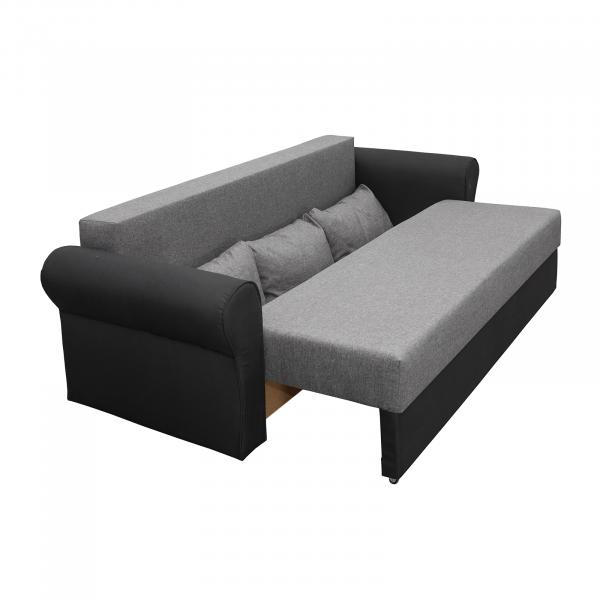 Canapea Sara extensibila cu lada depozitare - ExpoMob 2