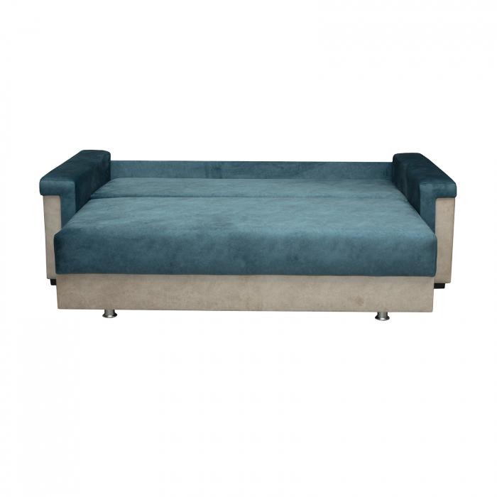 Canapea ZIRVE, extensibila, relaxa, cu lada depozitare - ExpoMob [1]