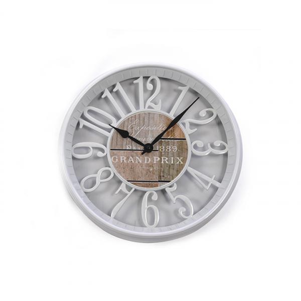 Ceas perete din material plastic decorativ - ExpoMob 0