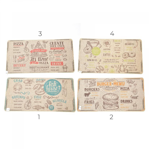 Covor FOOD STYLE din in 40x70 cm - ExpoMob 0