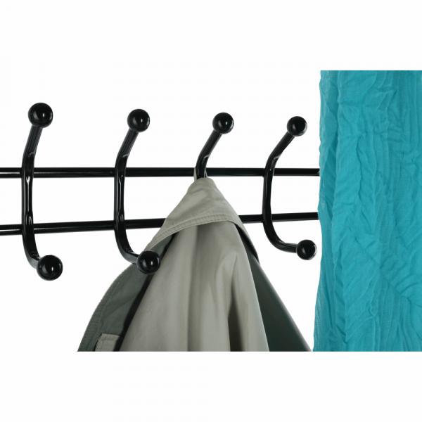 Cuier BARNUM cu dulap pentru încălţâminte, metal negru - Expomob 14