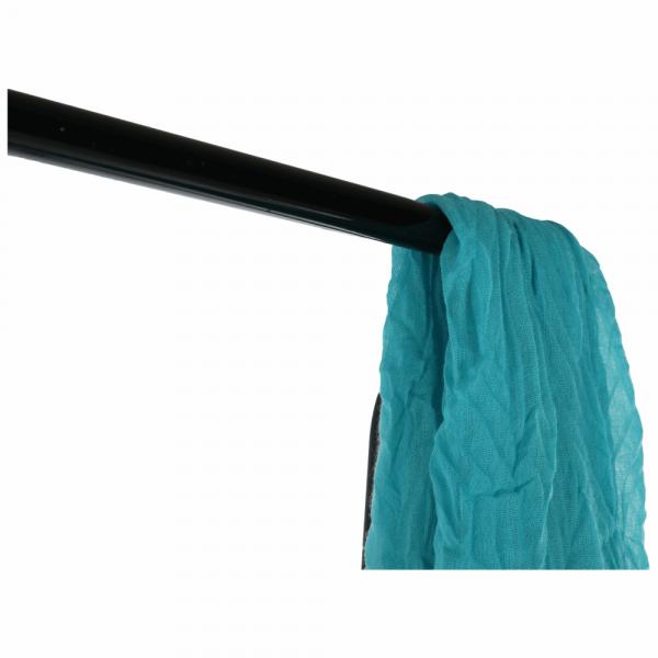 Cuier BARNUM cu dulap pentru încălţâminte, metal negru - Expomob 13
