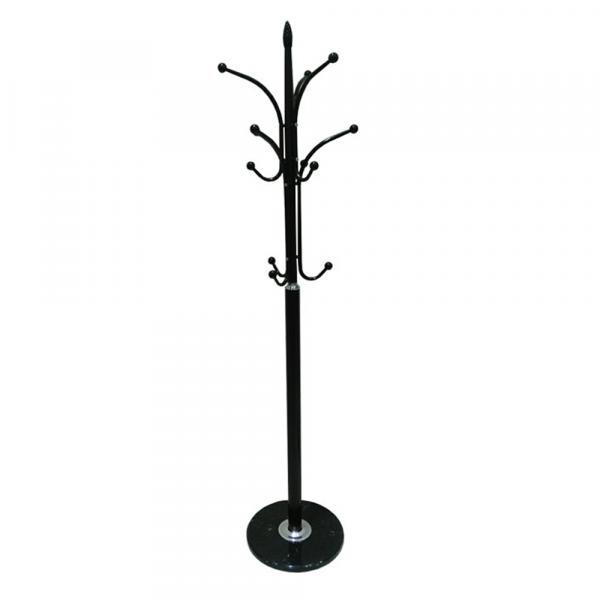 Cuier BELVIN, metal / marmură neagră - Expomob 0