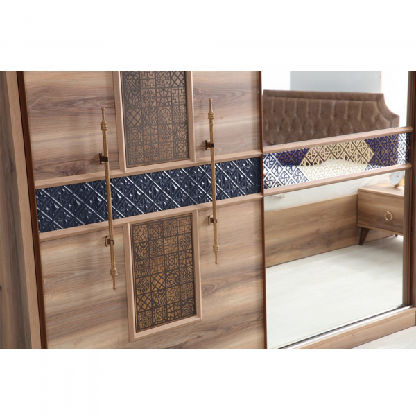 Dormitor ABELYA cu somieră și spațiu depozitare 3