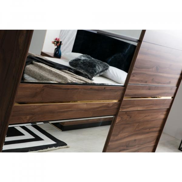 Dormitor EYMIR cu somieră și spațiu depozitare 5