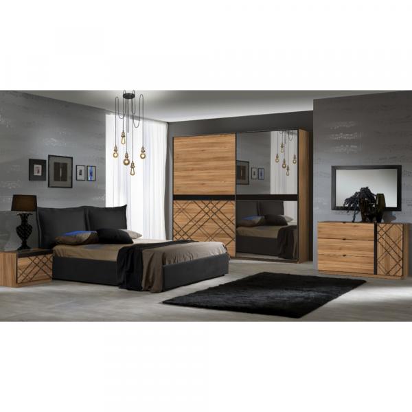 Set Complet Dormitor Kanova de lux cu 2 Usi - ExpoMob 0